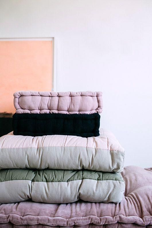 zen and the art of floor cushions. / sfgirlbybay x @urbanoutfitters #partner