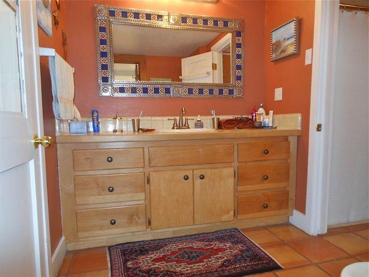 Small Bathroom Décor Mexican Or Saltillo Style