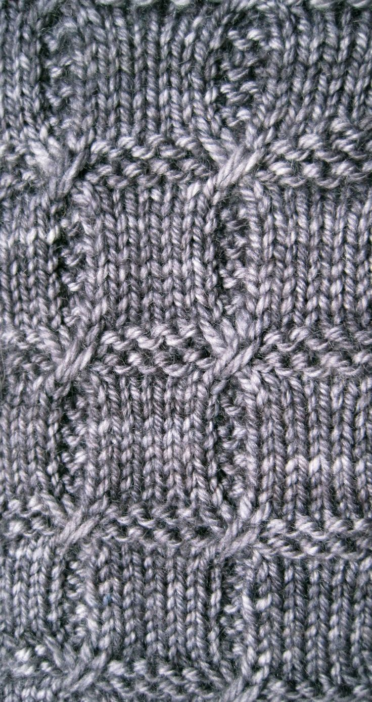 Gestrickte Socke Muster: Rutschte Kabel Socke Muster stricken
