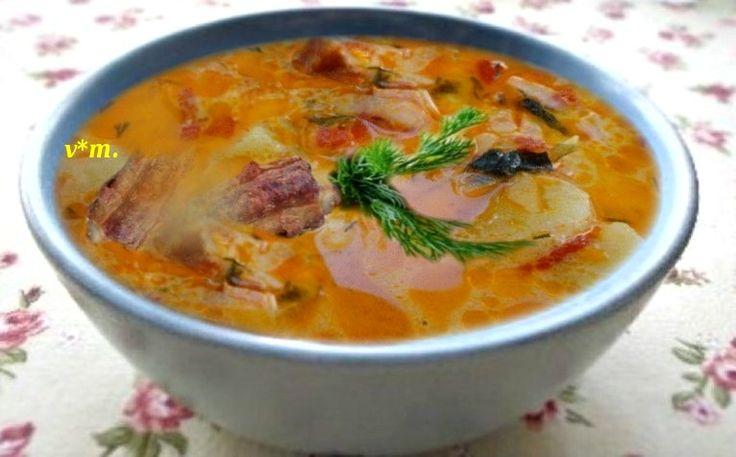 Ciorba de varzá cu cartofi  ingrediente / 3 portzii ·  - 1 ceapá ·  - 3 ...