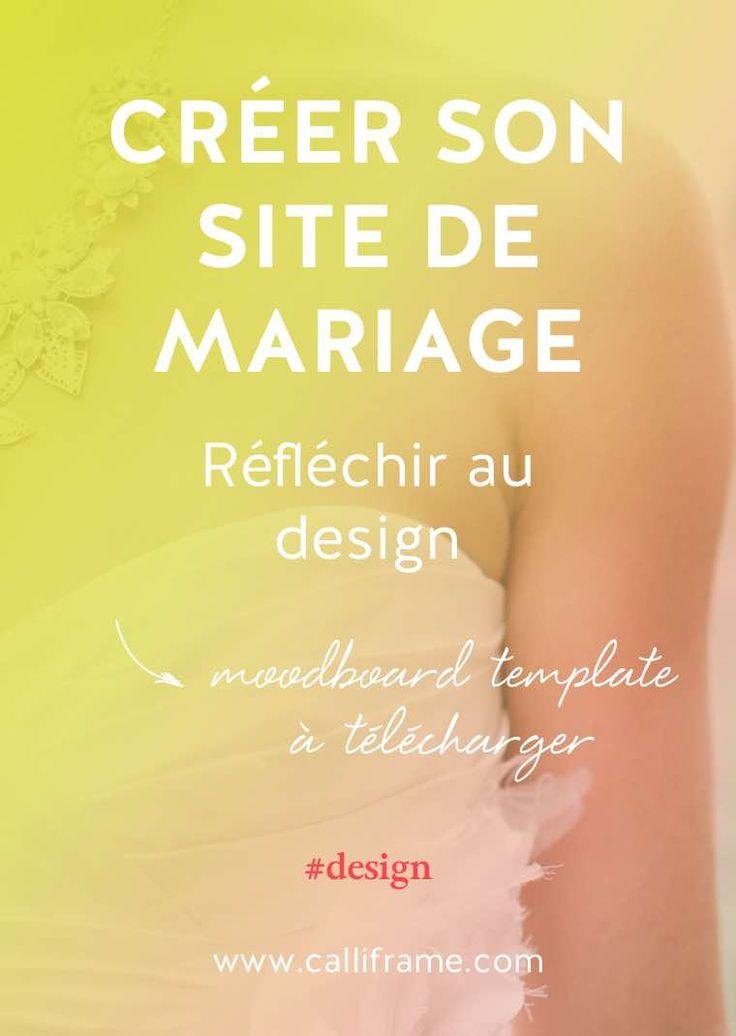 cr u00e9er son site de mariage  le design