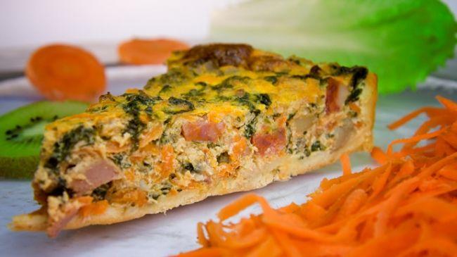Пирог с тыквой, сыром «бри», шпинатом и орешками - Портал Домашний
