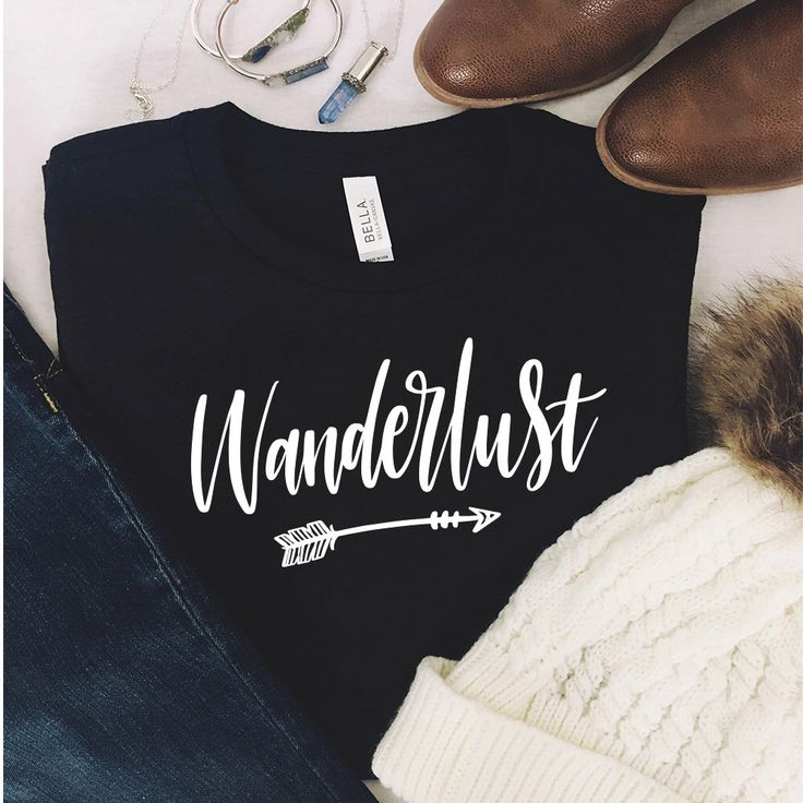 Wanderlust Shirt - Wanderlust - Travel Shirt - Adventure Shirt - Hiking Shirt - Travel - Camping Shirt - Not All Who Wander - Gift For Her by EastCoastVinylDecals on Etsy https://www.etsy.com/listing/482926018/wanderlust-shirt-wanderlust-travel-shirt