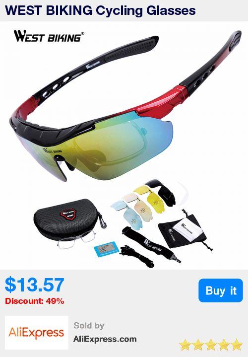 WEST BIKING Cycling Glasses Polarized Glasses 5 lens Outdoor Bicycle Sunglasses MTB Road Bike Ciclismo Men Women Cycling Eyewear * Pub Date: 15:42 Aug 15 2017