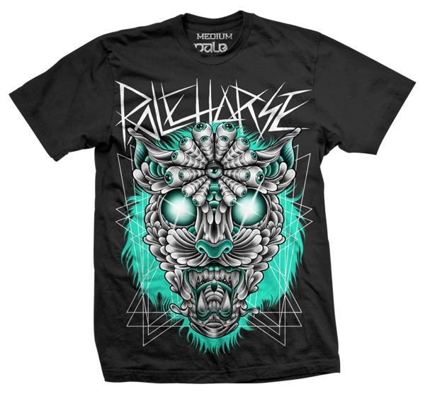 'Jaguar' T-shirt & Print by Pale Horse , via Behance