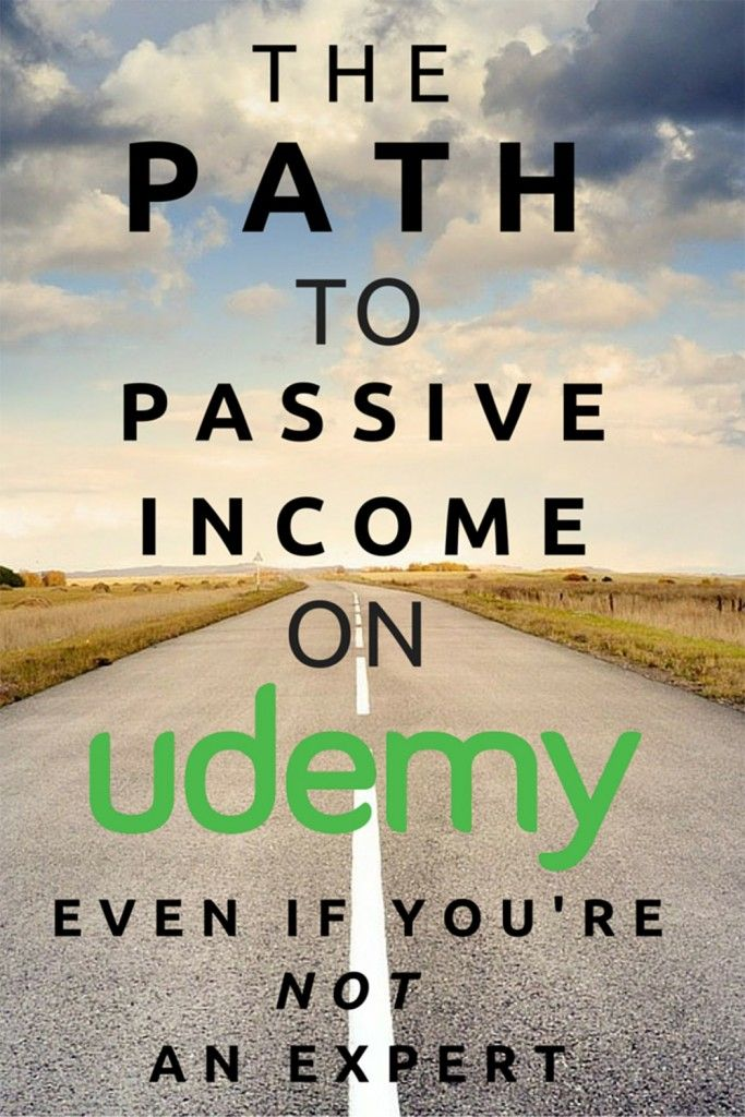 Scott earns thousands each month teaching a course he created in 18 hours, on a topic he has no formal training in. The path to passive income on Udemy even if you're not an expert, via @sidehustlenation