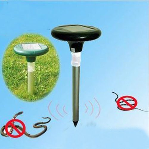 IWISHLIGHTTM Pair of Solar Snakes Rattlesnake Moles Voles Repeller *** Details can be found by clicking on the image.