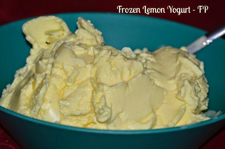 Frozen Lemon Yogurt - FP