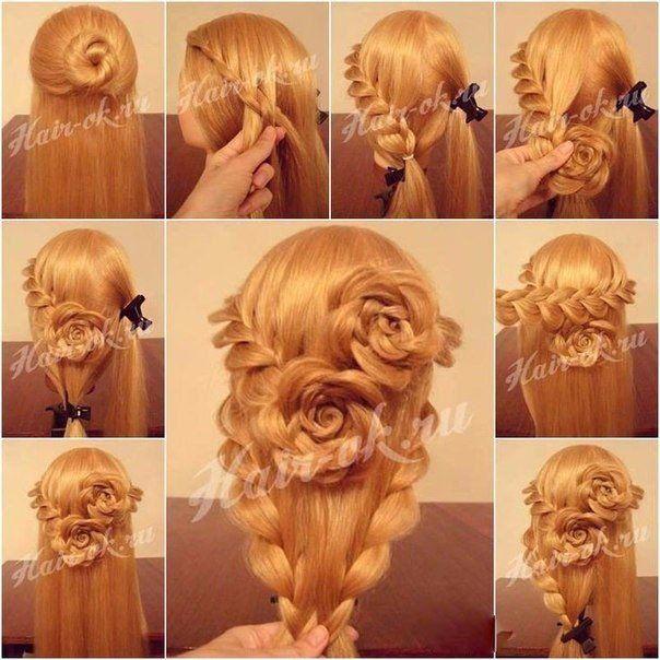 Прически на длинные волосы картинки как их делать