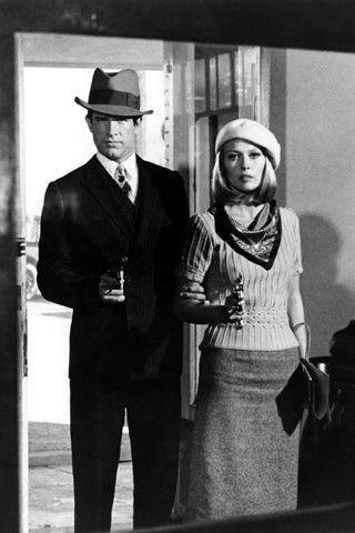 Bonnie and Clyde (o Arthur Penn y Faye Dunaway)