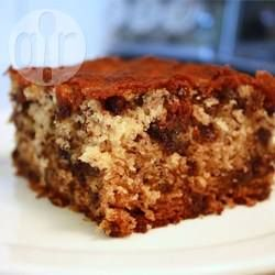 Chocolate chip banana cake @ allrecipes.co.uk