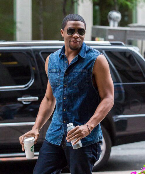 Chadwick Boseman my God I love him I need this man