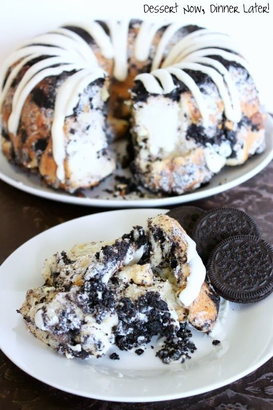 Cookies and Cream Monkey Bread - Home - The official blog of Americas favorite frozen dough