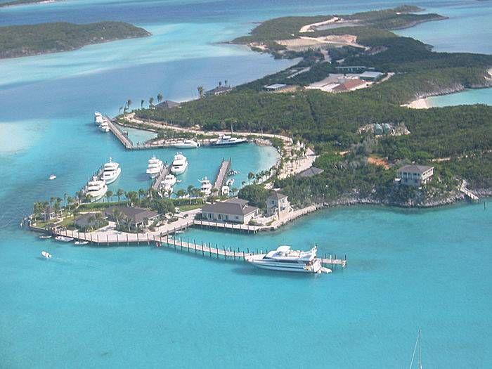 Exuma Bahamas Exuma Island ACQUAVIVA Yacht ACQUAVIVA