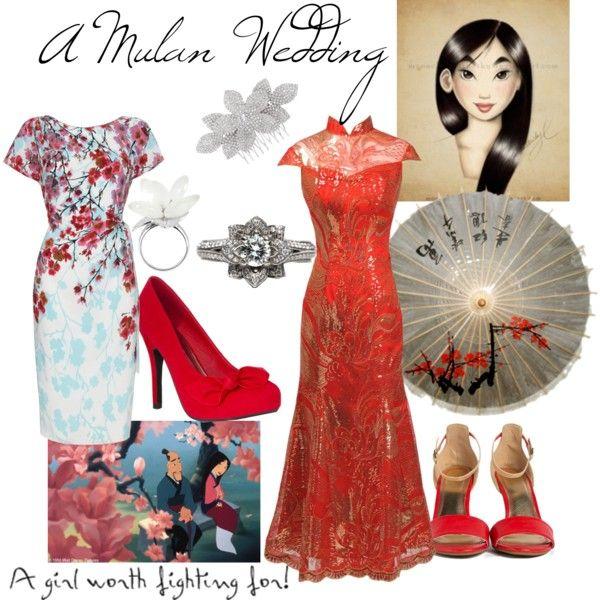 Cute Homecoming Dresses A Mulan Wedding   ♡M...