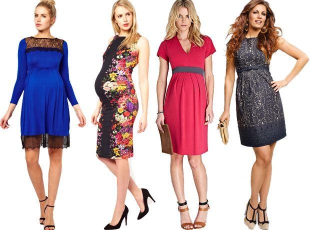 Maternity Dress Wedding Guest Fashion - Flatter that Bump!