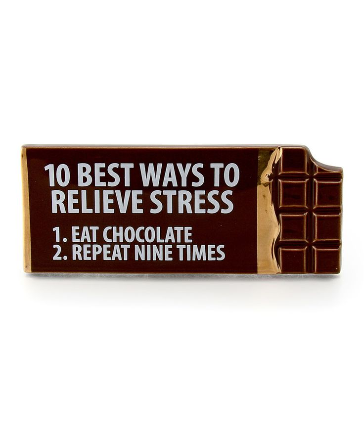 This Our Name Is Mud 'Relieve Stress' Plaque by Our Name Is Mud is perfect! #zulilyfinds