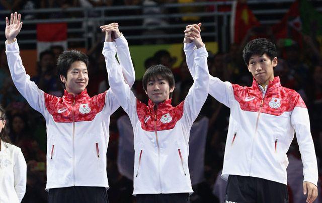 卓球男子団体が栄誉の銀メダル エース水谷が粘りの1勝も中国が3連覇達成 - gorin.jp #卓球 #リオ五輪