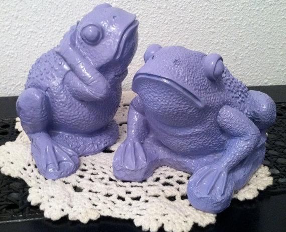Lavender Whimsical Frogs Purple Kid's Room by RepurposedTreasure4U, $12.00
