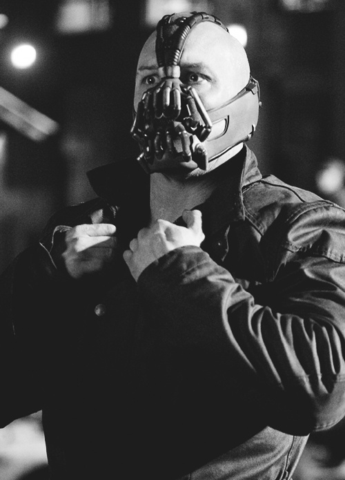 i really liked how they portrayed bane in the newest batman movie. he dealt with chronic pain and i can relate to that.