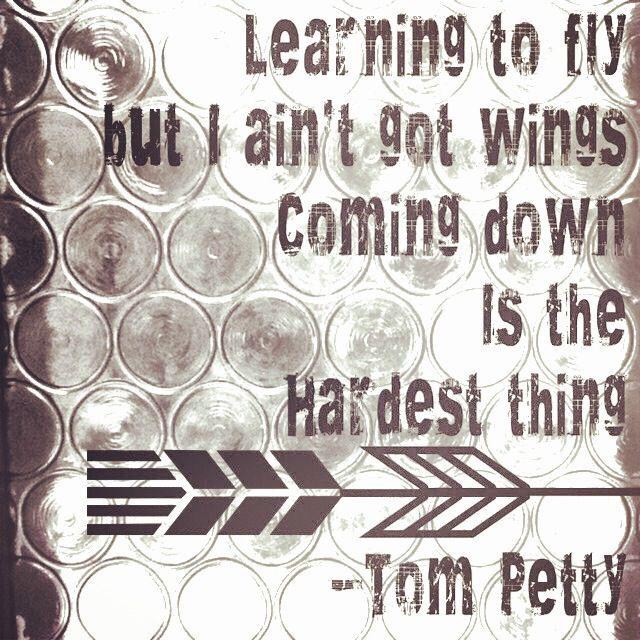 Tom Petty-Learning To Fly #lyrics