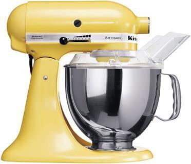 KitchenAid Artisan KSM150 Küchenmaschine, 4.8l, gelb #Küche #Maschine #Küchengerät #Haushalt #Galaxus
