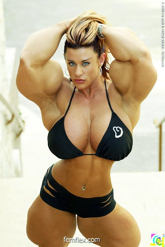 Gina Davis Bodybuilder Morph  Morph Huge Pictures Muscle -1176