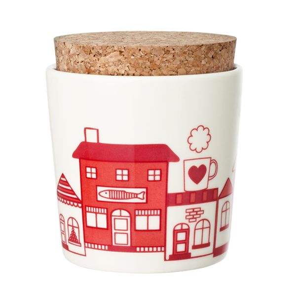 village jar - Manufacturer: Arabia  Design: Pattern Bakery