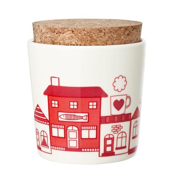 village jar - Manufacturer: Arabia  Design: Pattern Bakery