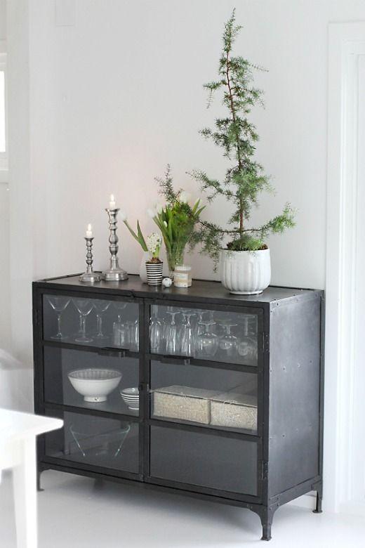 IMG_9829  Industrial metal buffet cabinet ( Birchandbird)