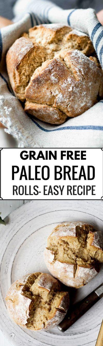 Grain Free Paleo Bread Rolls | Recipe | Grain free bread ...