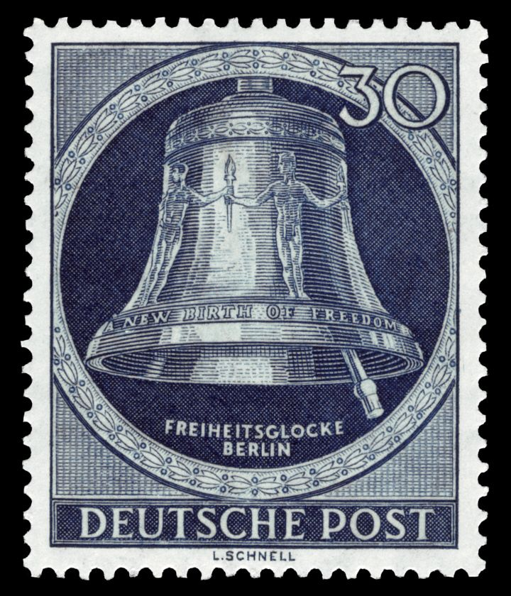 DBPB 1951 85 Freiheitsglocke Klöpper rechts
