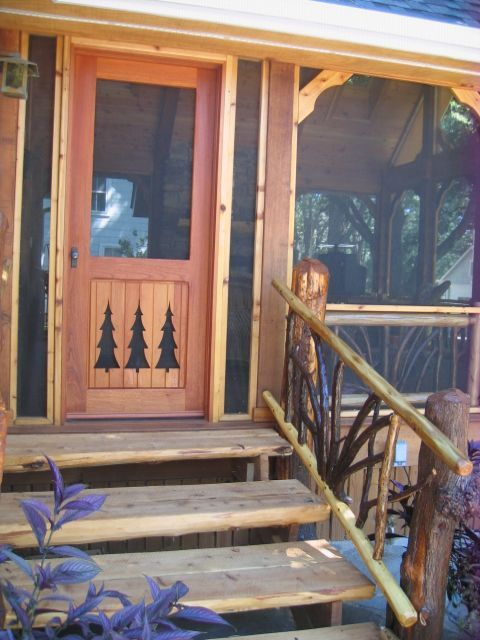 Free resources and events cabin pinterest cabin for Log cabin porch