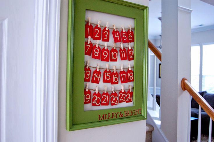Адвент календарь  (его еще называют рождественским календарем,  календарем ожидания или календарем обратного отсчета до Рождества) - это...