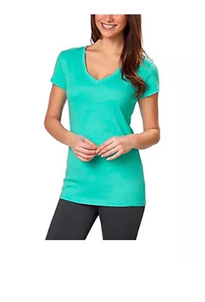 NWT Womens Kirkland Signature Cotton V-Neck T-shirt Ladies/' SELECT COLOR /& SIZE