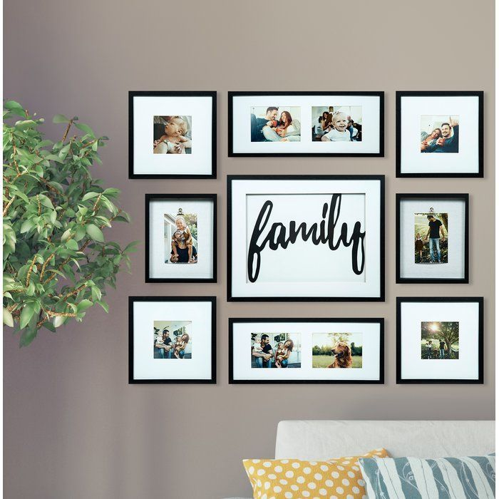 Modern Picture Frame Idea Discovering The Appropriate Picture Frame For Your Pictures Can Make All The Differ Family Decor Picture Frame Decor Frames On Wall