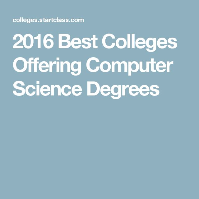 Computer Networking top college degrees