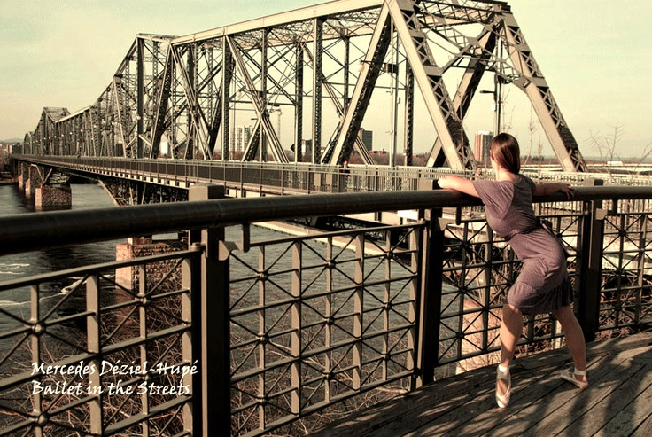 (C) Mercedes Déziel-Hupé.  Project: Ballet in the Streets  Fall 2012  Model/dancer: Anne Hennessy
