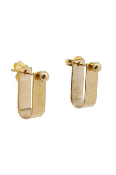 Gold Cuff Studs