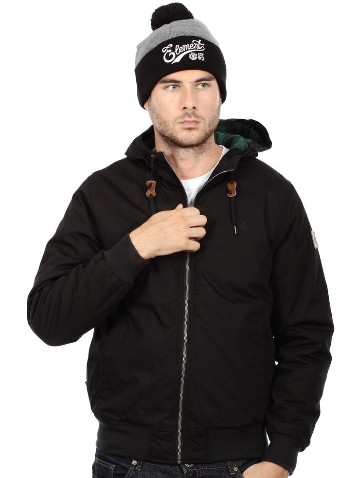 Element Black Dulcey 5000mm DWR Durable Water Resistent Coating - Fully Lined Jacket