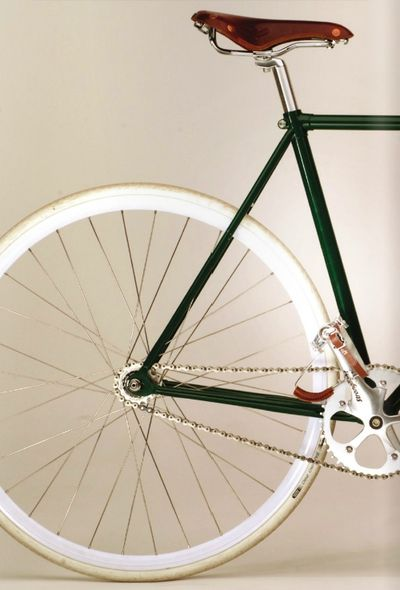 whitewalls and green and brown