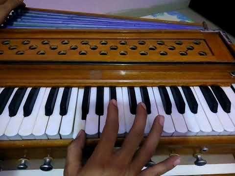 Do lafzon ki hai dil ki kahani song sargam, notes, harmonium