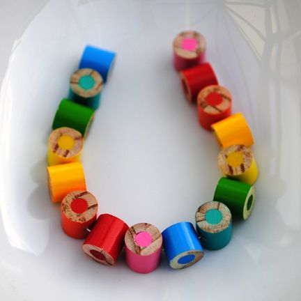 Pencil Necklace - i kinda want this for the first day of school