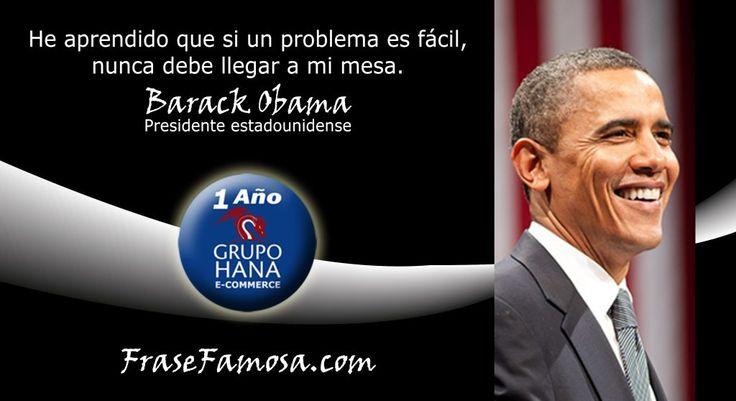 Frases de Barack Obama - Frases de Gestión - Frase Famosa