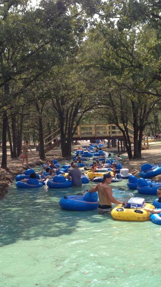 World's Longest Lazy River - Waco, TX 3/4mile, less than $20 for the day. Gotta go!