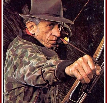 the father of modern archery, FRED BEAR!  RIP