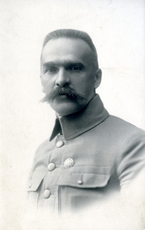 Jozef Pilsudski, an important political figure for Poland before his death in 1935, sporting an impressive Polish wąsy (mustache)