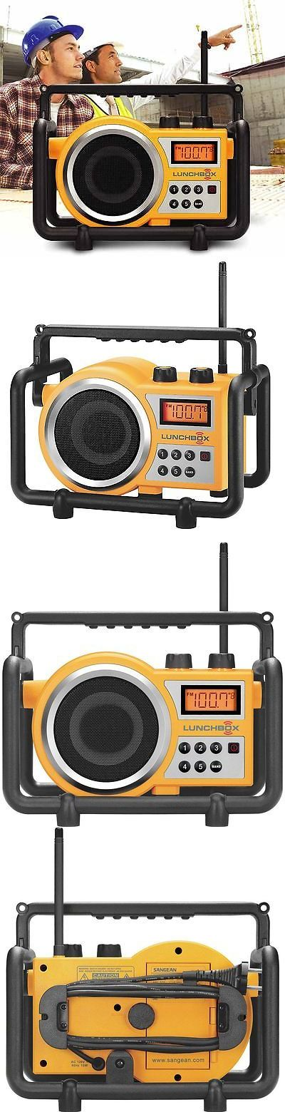 Portable AM FM Radios: Sangean Lb-100 Lunchbox Compact Fm Am Ultra Rugged Worksite Radio Receiver New -> BUY IT NOW ONLY: $78.04 on eBay!