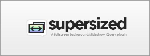 Supersized - Full Screen Background/Slideshow jQuery Plugin