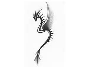Image detail for -Free designs - Girl dragon thin body tattoo wallpaper. (My chinese zodiac is a dragon, so I'm thinking I'll get this next to my phoenix whenever I get that one.
